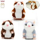 Talking Hamster Cute Nod Mouse Record Chat Mimicry Pet Plush Toy Xmas Gift UK