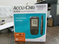 Accu Chek Active Glucose Monitor + 100 Test Strips + 1 Lancing Device 10 Lancets