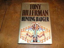 HUNTING BADGER by TONY HILLERMAN HB 1st 1999 Navajo Police Leaphorn, Chee series