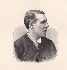 Portrait XIXe Ernest Coquelin Cadet Boulogne sur Mer Pas de Calais Théâtre