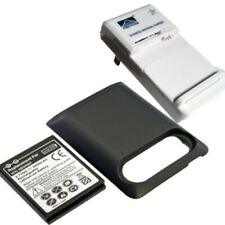 2 x 2800mAh Extended Battery for HTC HD3 HTC HD7 Black Cover Dock Charger