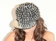 Hedgehog Soike Studded Rivet Hat Snapback Baseball Cap Men Women Punk Adjustable