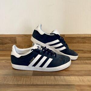 Womens Adidas Gazelle Trainers Navy Blue UK Size 5