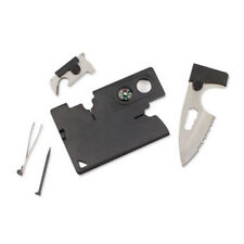 Wholesale Lots Credit Card Companion with Lens/Compass Survival 10-In-One Tool