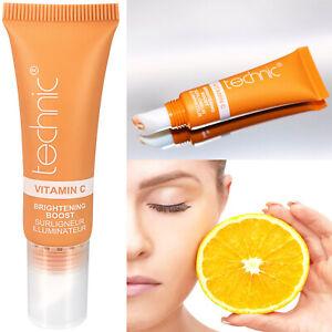 Technic Vitamin C Brightening Boost Tinted Eye Cream Moisturising New Concealer