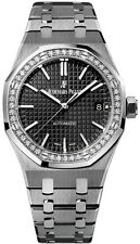 Audemars Piguet Royal Oak Ladies Automatic Diamond Bezel 15451ST.ZZ.1256ST.01