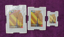 Cliprahmen Dokumentenrahmen Bilderrahmen Set 3Stk. Rahmenlos Normalglas Bilder