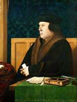 PAINTING ANTIQUE HOLBEIN JUNIOR THOMAS CROMWELL 12x16'' ART PRINT POSTER LAH509B