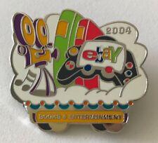 Ebay Live 2004 Lapel Pin Books & Entertainment Category Ebayana Ad Souvenir