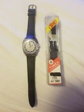 Vintage Timex Automatic Blue Accented Dial & Hands Men's Watch