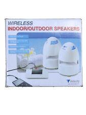 Velocity Wireless Indoor / Outdoor Speakers 🔊- New In Opened Box 📦