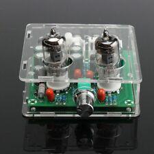 6J1 Valve Pre-amp Tube PreAmplifier Board Headphone Amplifier Buffer Case AC 12V