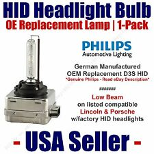 OE HID Headlight Low Beam GENUINE German PHILIPS fits Select Lincoln/Porsche D3S