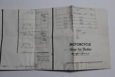 Chicago Coin Motorcycle Arcade Machine Used Schematics