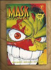 The Mask Returns #4 NM Near Mint 1993 scarce Dark Horse Comics US comics