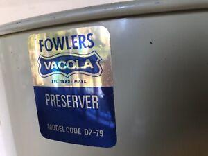 Fowlers Vacola preserving kit