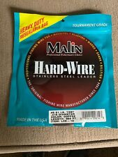 Malin Hardwire Stainless Steel Leader Wire-1/4 Lb Coil #6 LC6-14