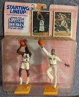 Joe Dumars & Grant Hill Detroit  Pistons STARTING LINEUP Classic Double 97 NBA