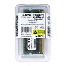 4GB SODIMM Sony VPCEB15FM VPCEB15FX VPCEB16FD VPCEB16FG VPCEB16FX Ram Memory