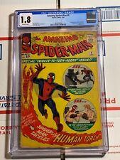 Amazing Spider-Man #8 CGC 1.8 (Marvel Comics 1964)