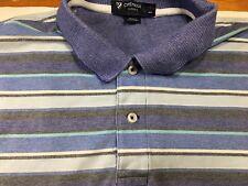 Daniel Cremieux Classics Mens XL Striped Short Sleeve Golf Polo Rugby Shirt C2