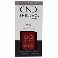 Shellac Nail Color - Wildfire by CND for Women - 0.25 oz Nail Polish