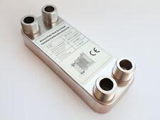 B3-12-12 Edelstahl Plattenwärmetauscher mit 4x 3/4Zoll Wärmetauscher bis 25KW