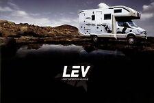 Weinsberg LEV 4x4 Reisemobil Prospekt mit Preisliste 2008 Wohnmobil Broschüre