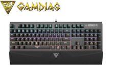 GAMDIAS HERMES M1 Tastiera Gaming Meccanica (versione UK) Originale/Nuovo di Zecca