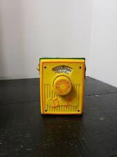 "Vintage '72 Fisher Price Music Box Pocket Radio ""Raindrops""#762"