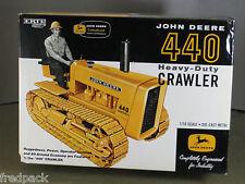 JOHN DEERE JD 440 CRAWLER LIMITED NTTC EDITION NEW IN BOX 1/16 ERTL 2005