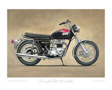 Triumph T140V (US) Bonneville (1976) - Limited Edition Collectors Art Print