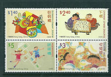 Hong Kong 2004 Children's Stamp Designs block of 4 unmounted mint.