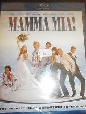 MAMMA MIA! FILM IN BLU-RAY NUOVO DA NEGOZIO ANCORA INCELLOFANATO PREZZO AFFARE!!
