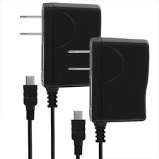 LOT OF 2 Home/Wall Chargers for Amazon Kindle Fire 2nd HD 7, Nook Color/Tablet