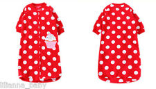 Brand New Microfleece Sleeping Bag (0-9M)- Cute Red with White Dots Cupcake