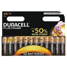 12 x Duracell AA Plus Power Alkaline Batteries, Duralock. LR6, MN1500,Expiry2026