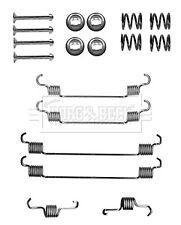 Brake Shoe Fitting Kit fits TOYOTA AYGO KGB10 1.0 Rear 05 to 13 1KR-FE B&B New