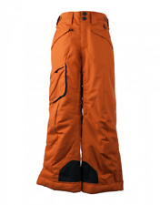 Obermeyer Porter Snow Pant - Boy's - Small, Red Rock