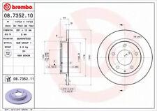 Brake Disc A.B.S. 08.7352.11