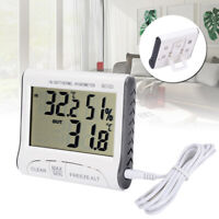 Digital Wireless Indoor Outdoor Thermo-Hygrometer Thermometer Humidity Meter Kit