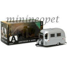 GREENLIGHT 18236 AIRSTREAM BAMBI 16' CAMPER TRAILER 1/24 DIECAST MODEL CHROME
