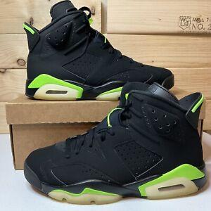 Air Jordan 6 Retro Electric Green CT8529-003 Size 9 Men's/ Women's 10.5