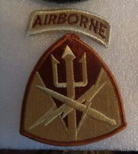 U.S.ARMY  PATCH  SPECIAL OPERATIONS COMMAND, JOINT FORCES COMMAND, DESERT
