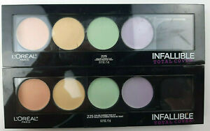 L'Oreal Paris Cosmetics Infallible Total Cover 225 Color Correcting Kit Palette