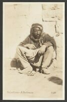 Postcard Middle East Palestine a Bedouin ethnic early RP