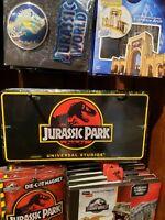 ONE #1 Original Logo Jurassic Park RARE Universal Studios Florida License Plate