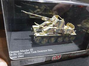 HM Hobbymaster 1/72 German Marder III Tank Destroyer Russia 1944 HG4103