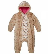 new NWT RUUM girls (AMERICAN EAGLE KIDS 77) l/s Tan Bunting Coverall sz 3-6 mos