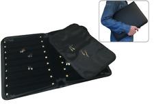 Earring Case Jewelry Display Case Portfolio Black Jewelry Folder Travel Case